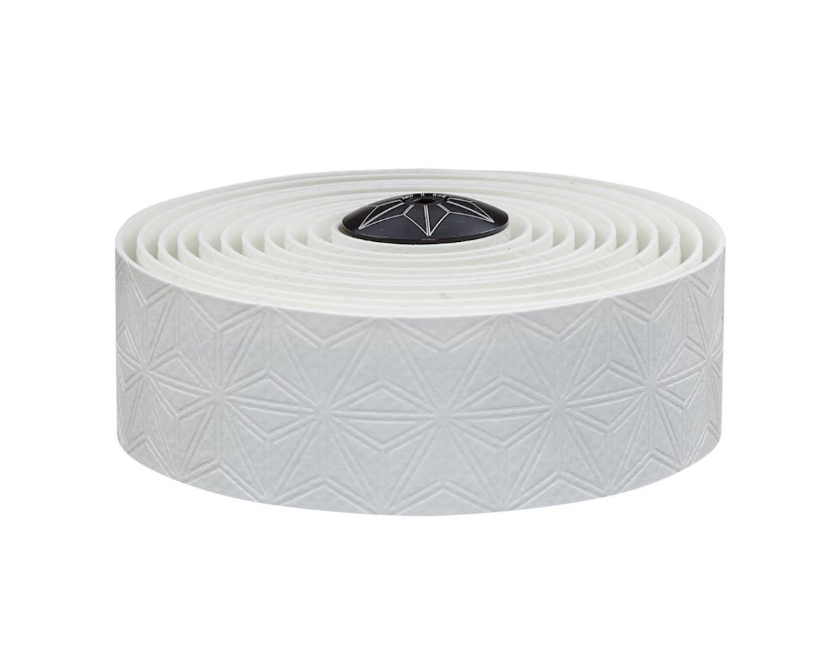 Supacaz Super Sticky Kush Handlebar Tape w/ Silicone Gel (White)