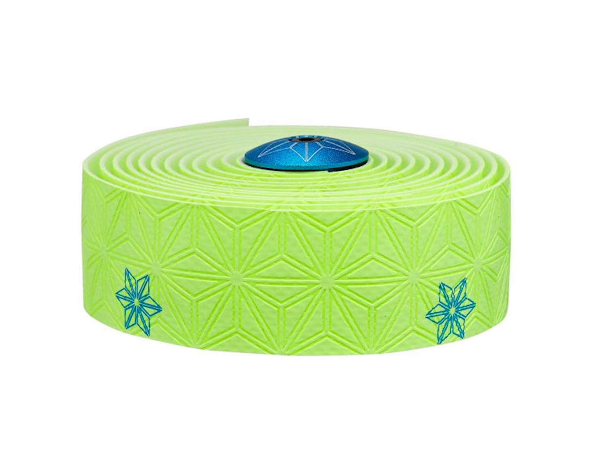 Supacaz Super Sticky Kush Handlebar Tape (Neon Yellow/Galaxy Pink)