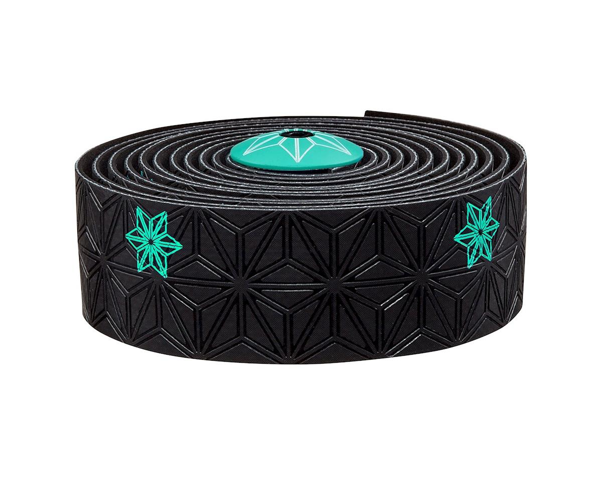 Supacaz Super Sticky Kush Handlebar Tape (Celeste/Galaxy Black)