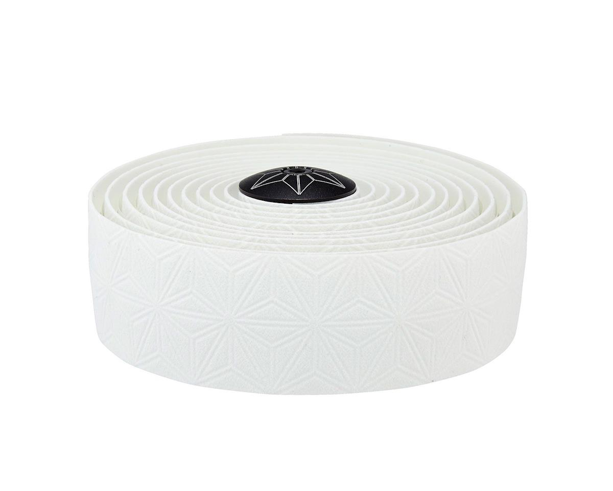 Supacaz Suave Cork Bar Tape w/ Silicone Gel (White)