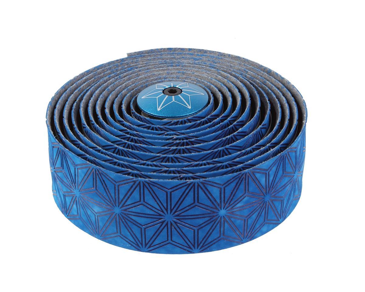 Blue Supacaz Suave Velvet Silicone Gel Handlebar Tape