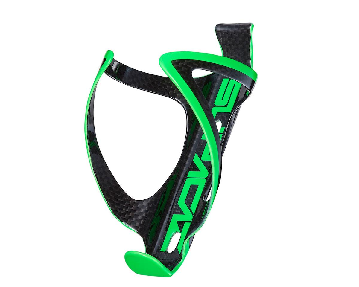 Supacaz Fly Carbon Bottle Cage (Neon Green/Carbon)