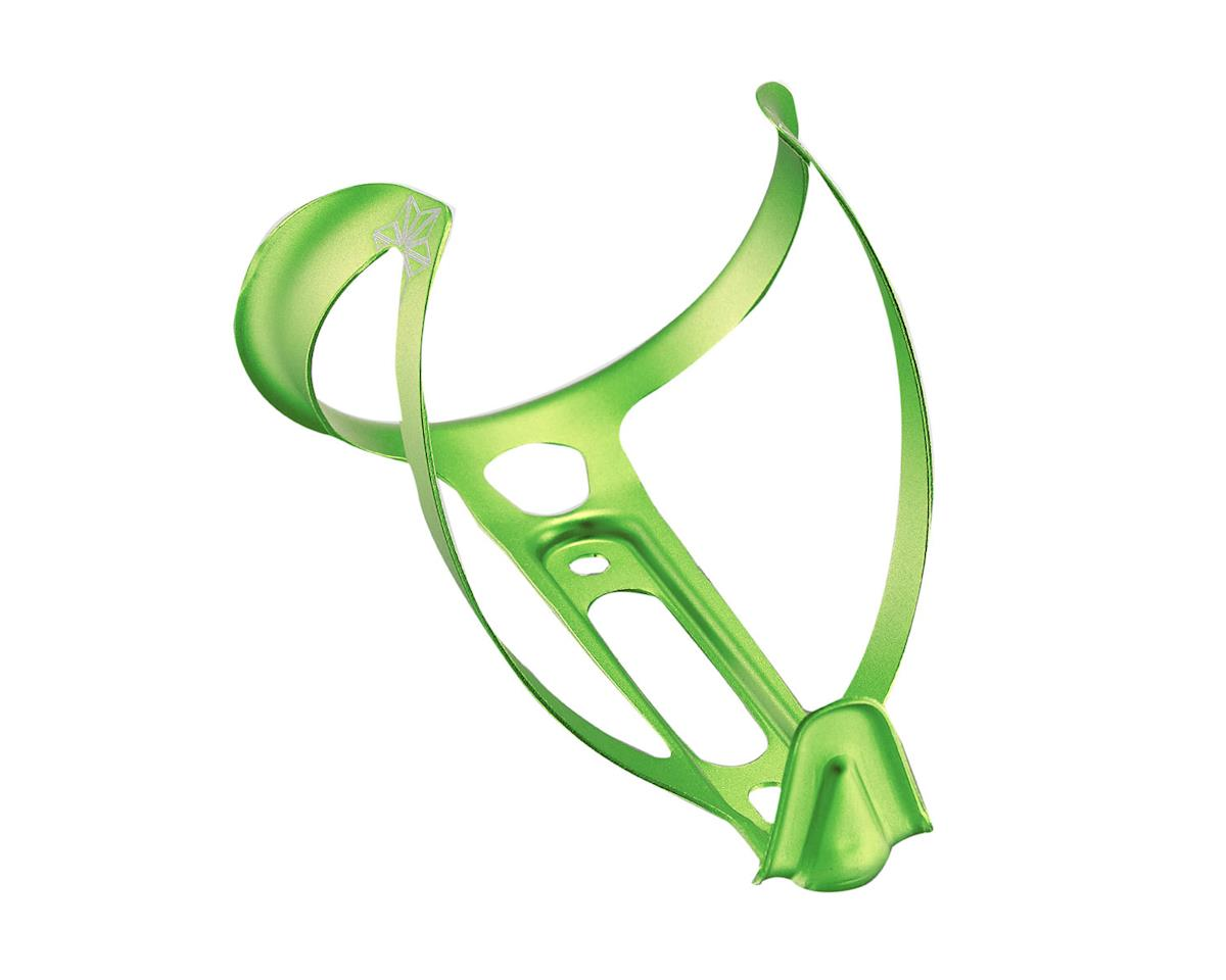Supacaz Fly 18g Aluminum Bottle Cage (Ano Neon Green)