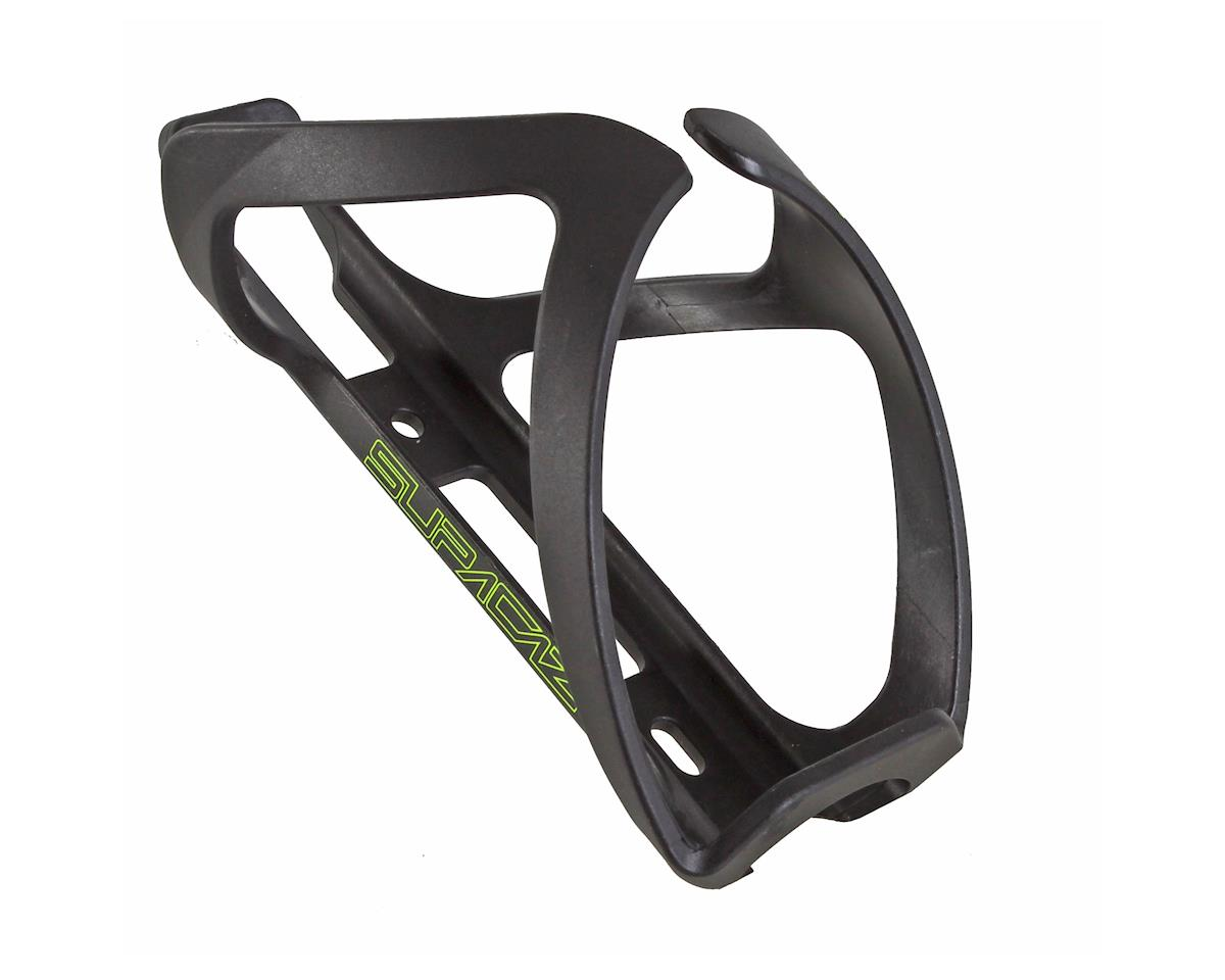 Supacaz Tron Side Load Bottle Cage (Neon Yellow Logo)