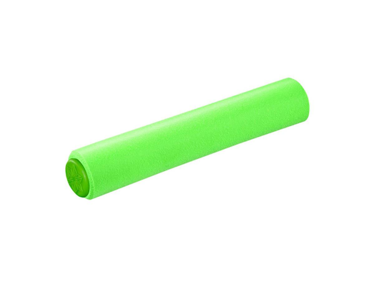 Supacaz Siliconez SL Silicone Grips (Neon Green)