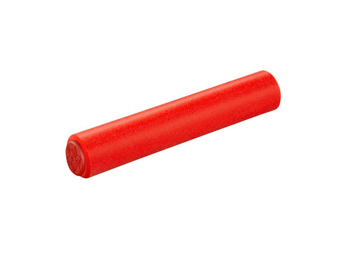 Supacaz Siliconez SL Silicone Grips (Red)