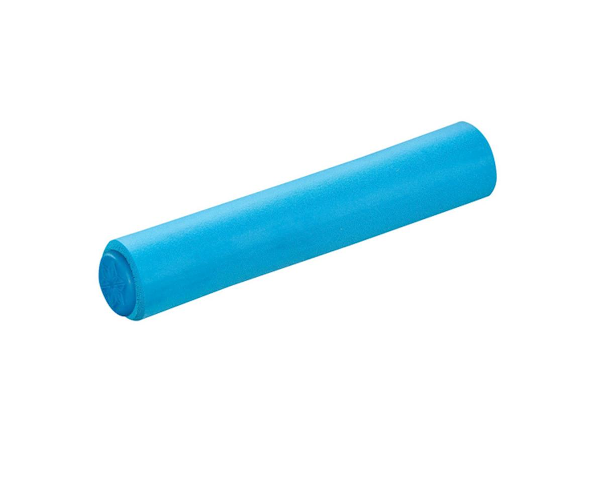 Supacaz Siliconez XL Silicone Grips (Neon Blue) (34mm Diameter)