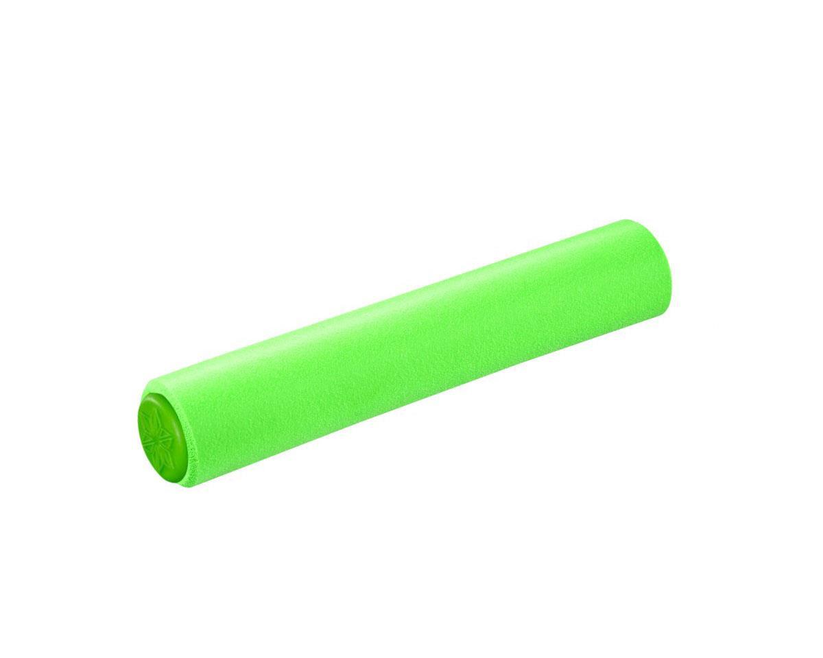Supacaz Siliconez XL Silicone Grips (Neon Green)