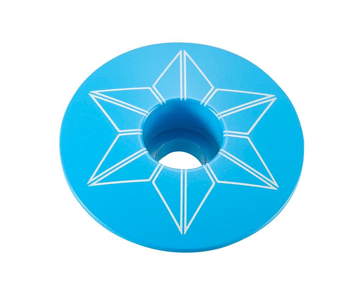 Supacaz Star Cap (Neon Blue)