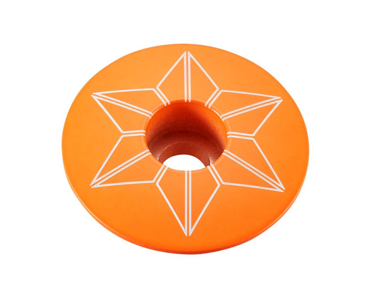 Supacaz Star Cap (Neon Orange)