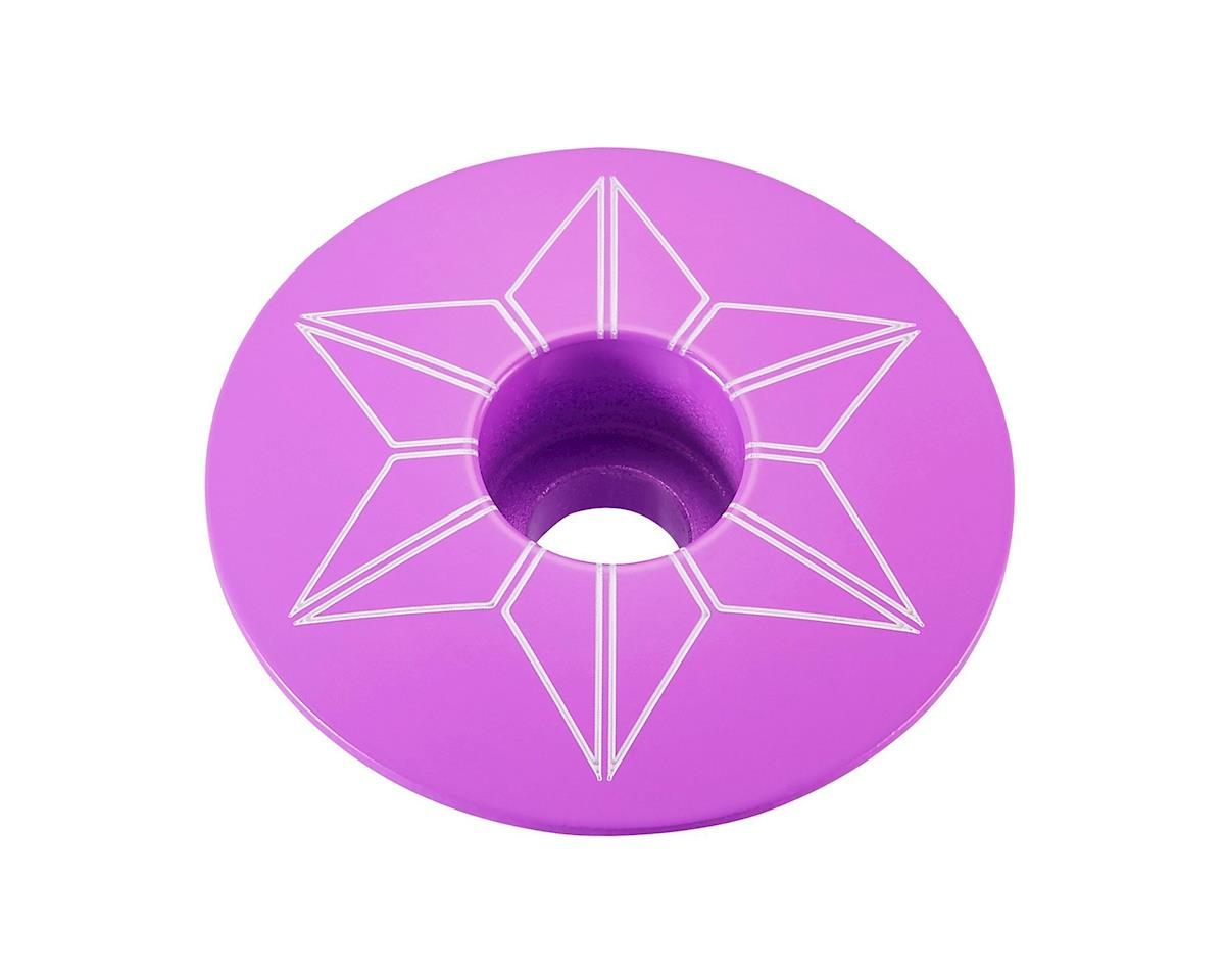 Supacaz Star Cap (Neon Purple)