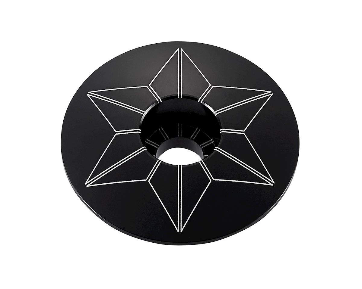 Supacaz Star Cap (Black Anodized)