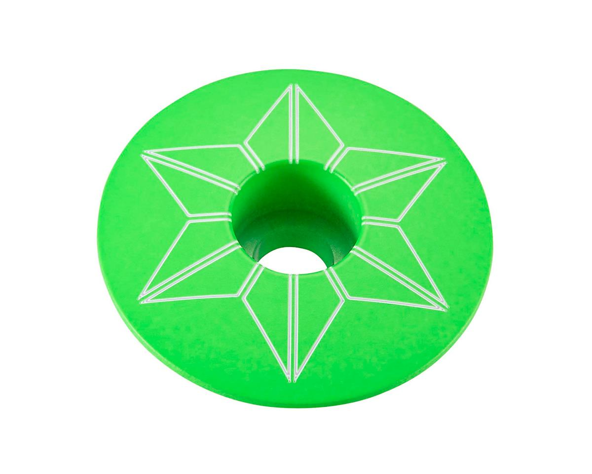 Supacaz Star Cap (Neon Green)