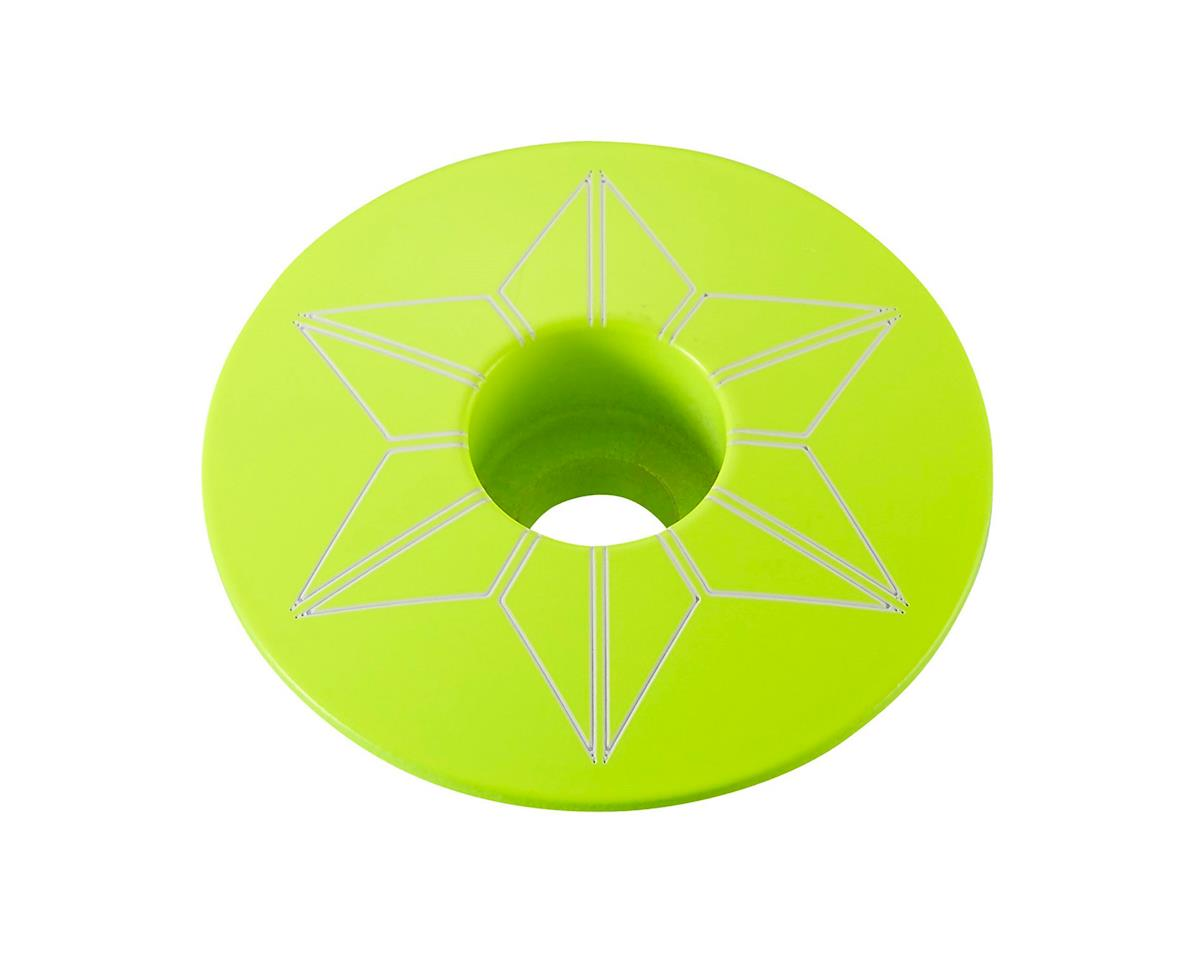 Supacaz Star Cap (Neon Yellow)