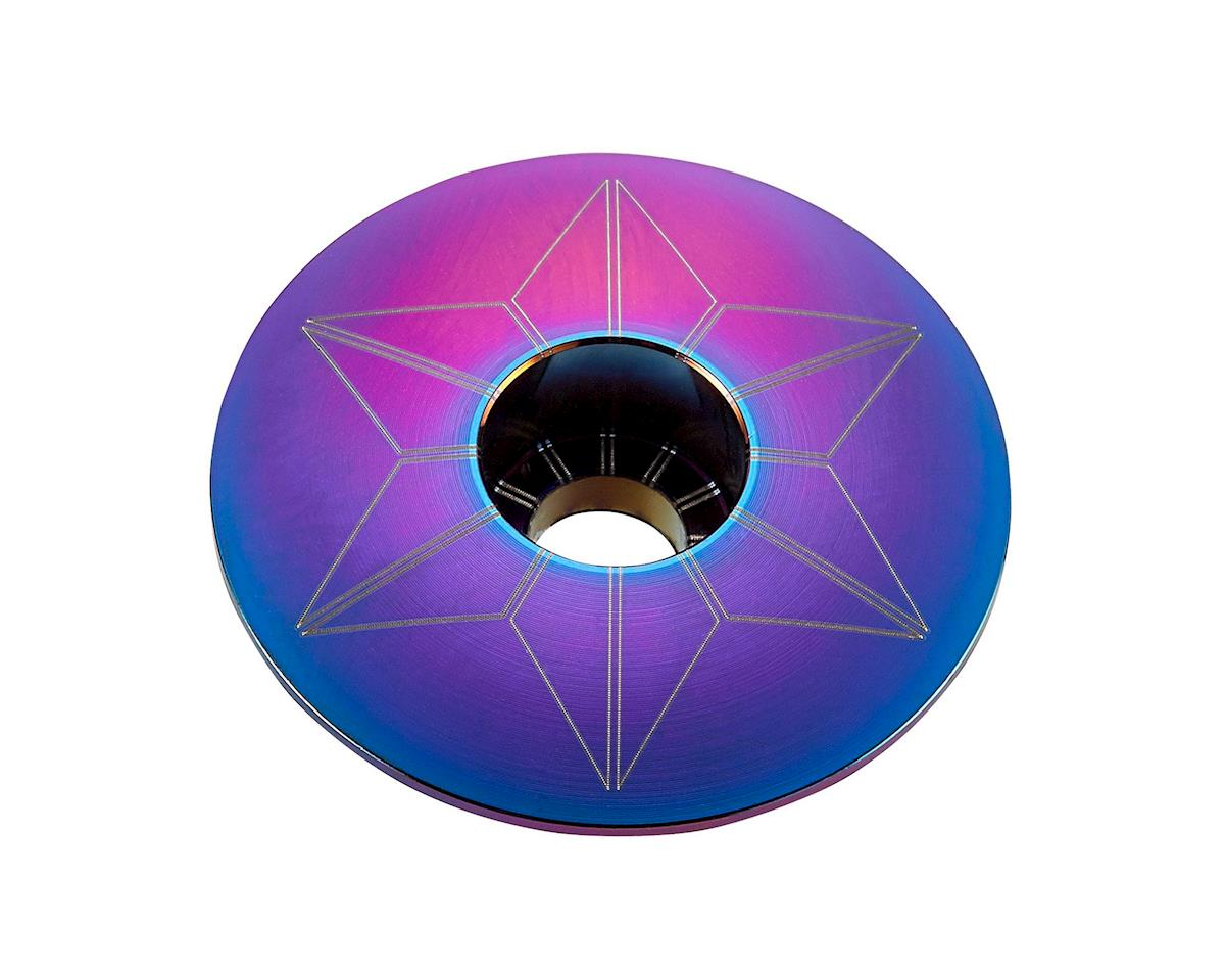 Supacaz Star Cap (Oil Slick Blue/Purple)