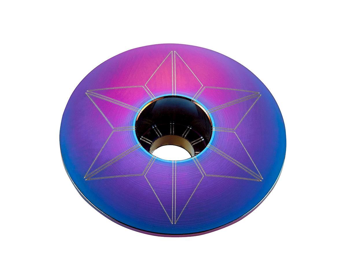 Supacaz Star Cap (Oil Slick Blue/Purple)