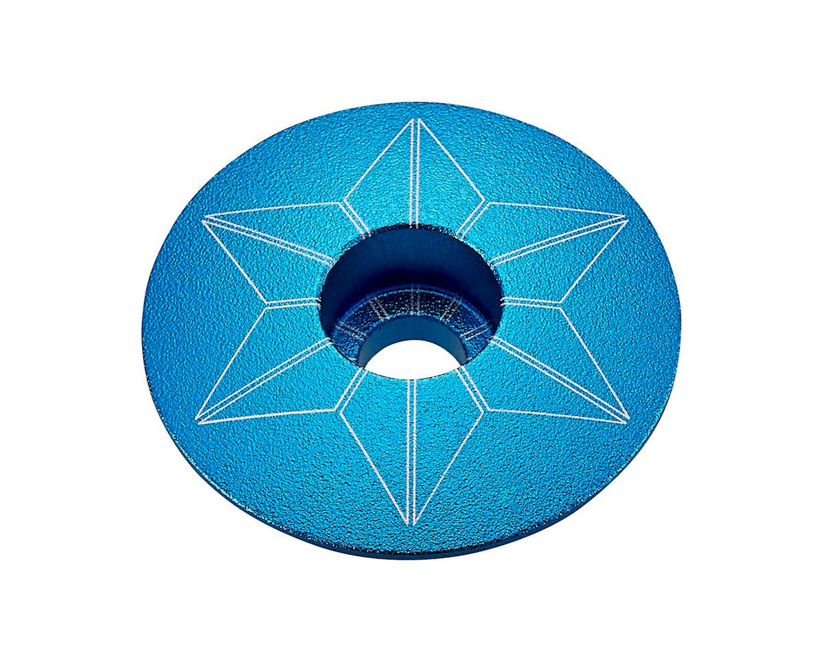 Supacaz Star Cap (Aqua Anodized)