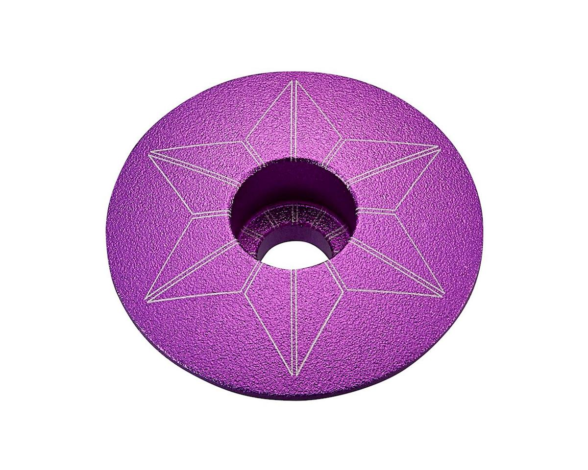 Supacaz Star Cap (Purple Anodized)