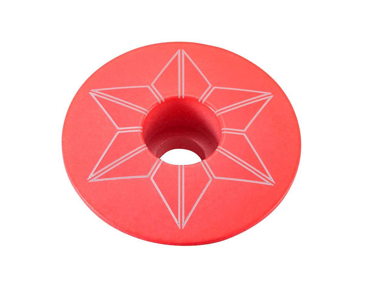 Supacaz Star Cap (Hot Pink)