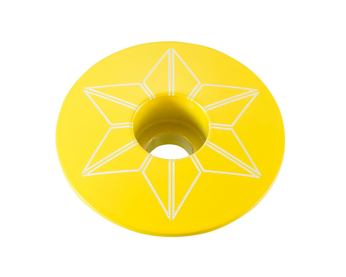 Supacaz Star Cap (TDF Yellow)