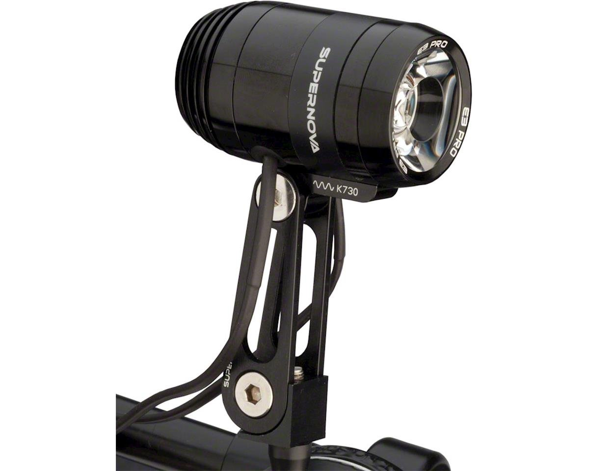 Supernova E3 Pro 2 Headlight with Multi-mount (Black)