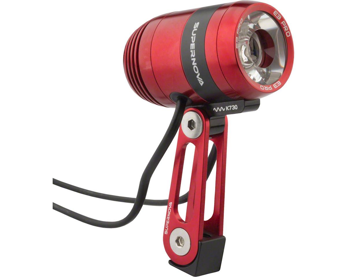 Supernova E3 Pro 2 Dynamo Head Light (Red) (Multimount)