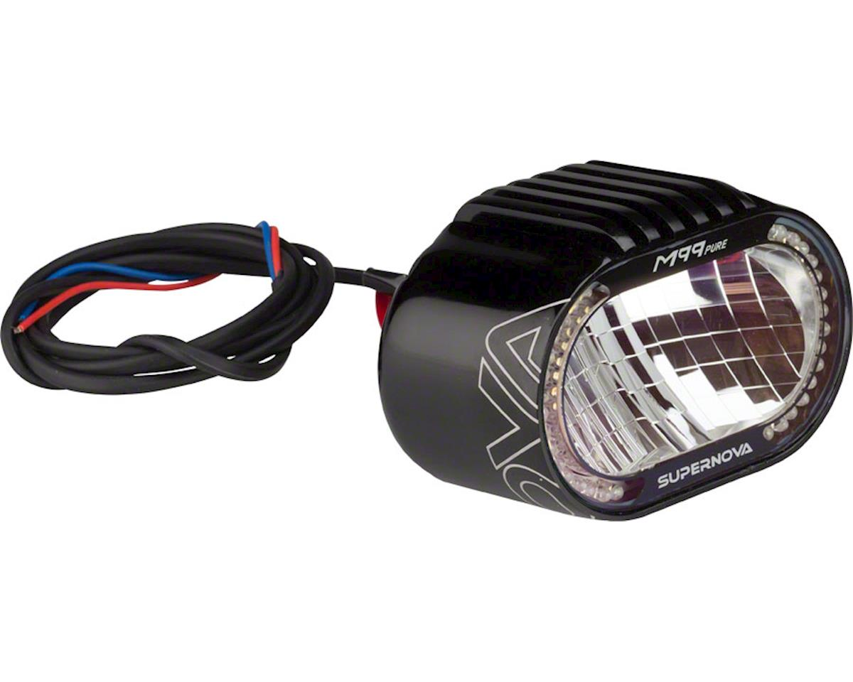 Supernova M99 Pure+ E Bike Headlight: Black