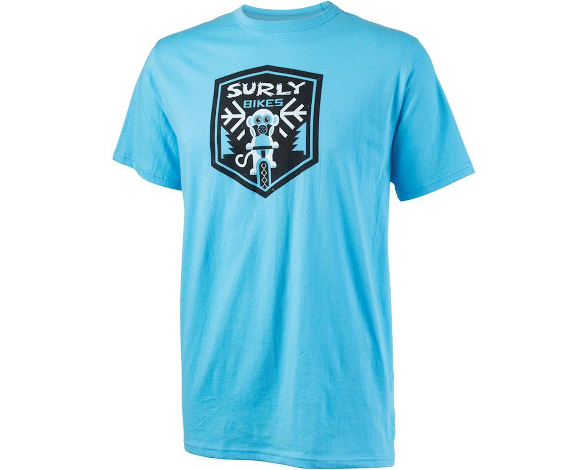 Surly Snow Monkey Men's T-Shirt (Blue)