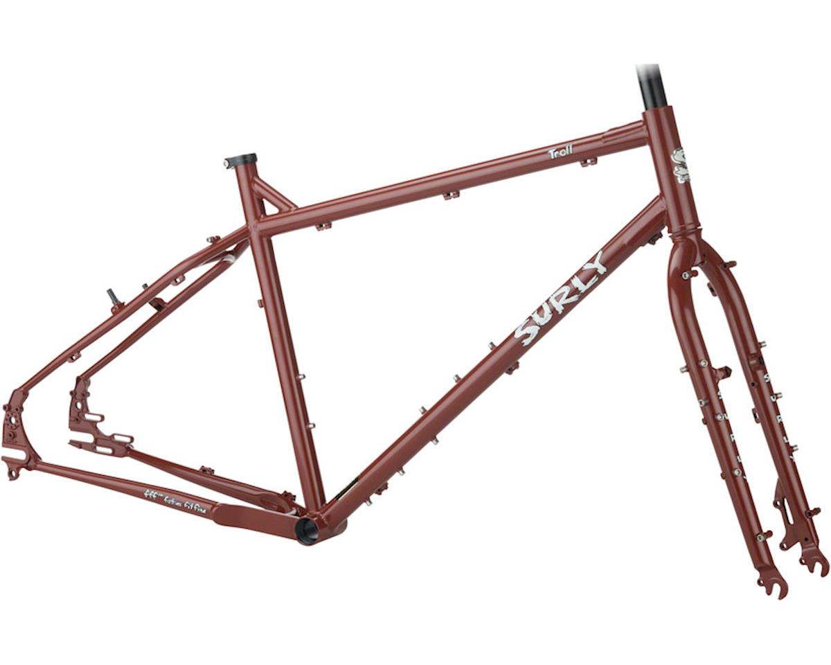 Surly Troll Frameset (Get Gone Maroon) (XS)