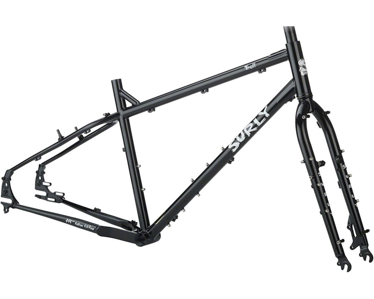 Image 1 for Surly Troll Frameset (Black Forest) (XS)