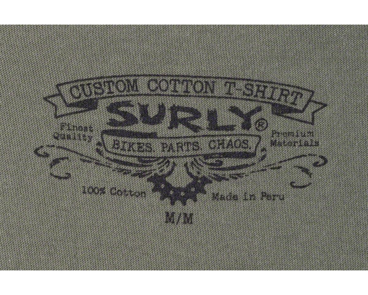 Surly Men's Logo T-Shirt (Green) (M)
