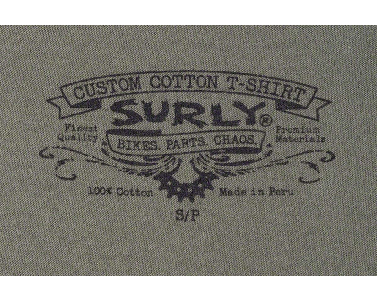 Surly Logo Women's T-Shirt (Green) (L)