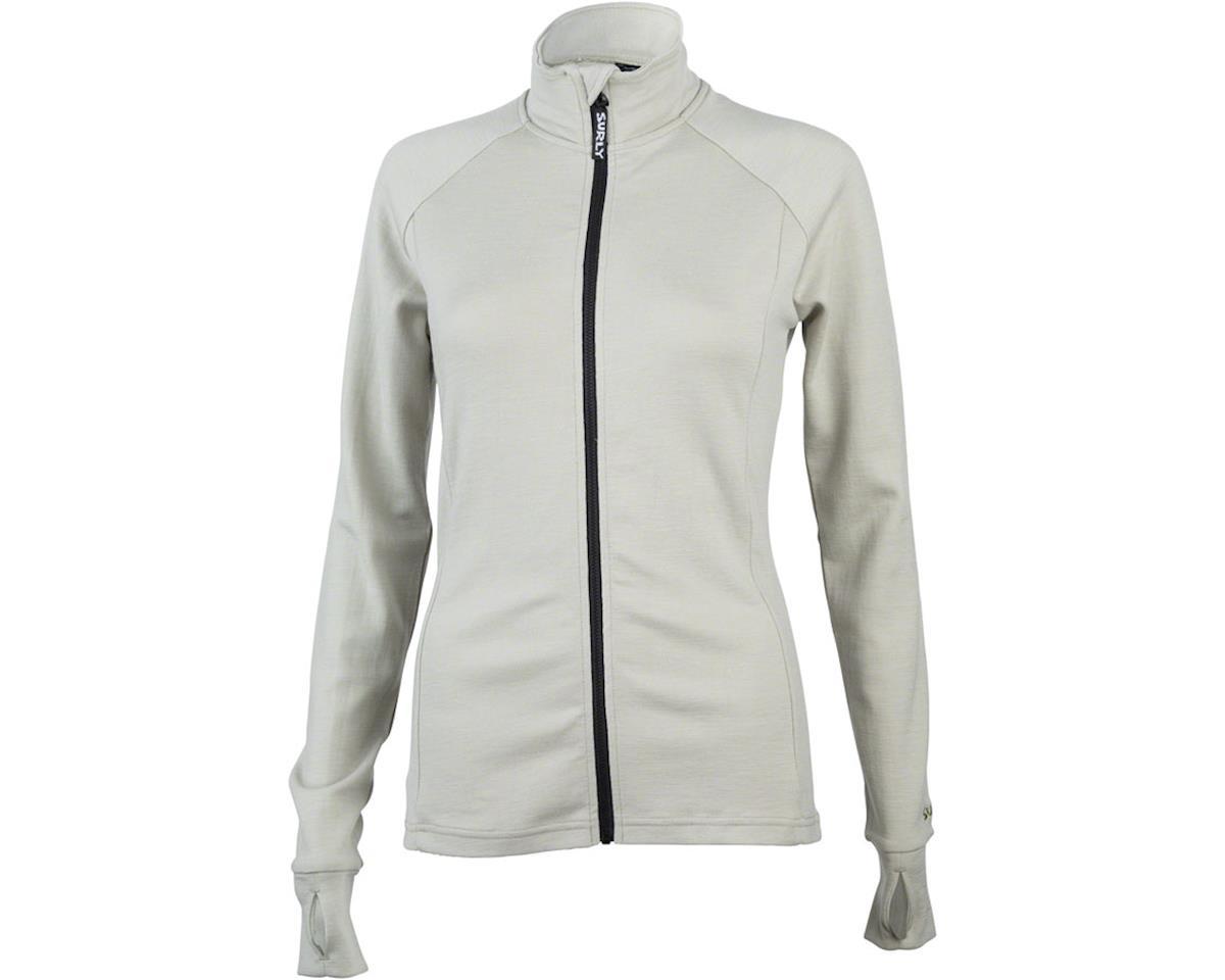 Surly Merino Women's Long Sleeve Jersey (Tan)