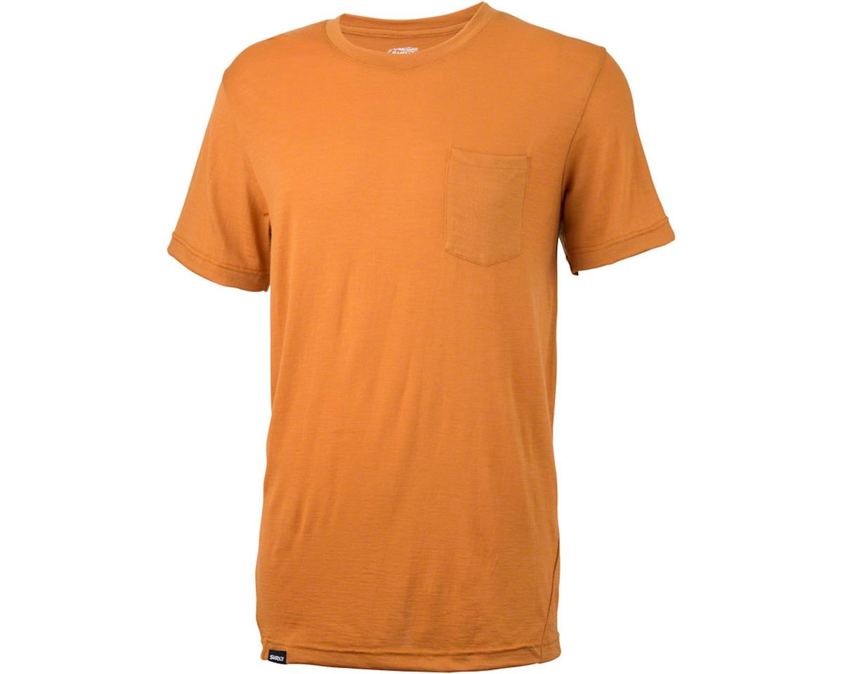 Surly Merino Pocket T-Shirt: Tan
