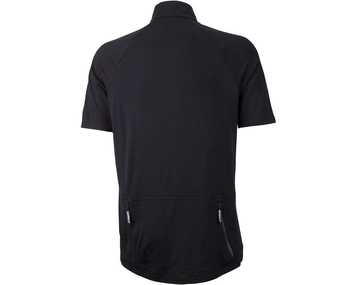Image 2 for Surly Merino Wool Lite Men's Short Sleeve Jersey (Black) (S)