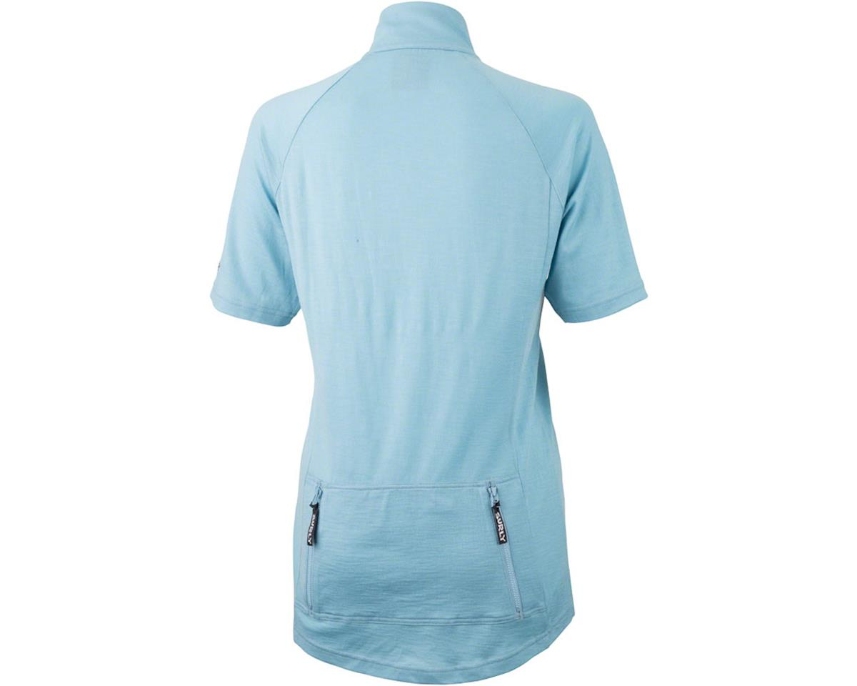 Image 2 for Surly Merino Wool Lite Women's Short Sleeve Jersey (Tile Blue) (M)