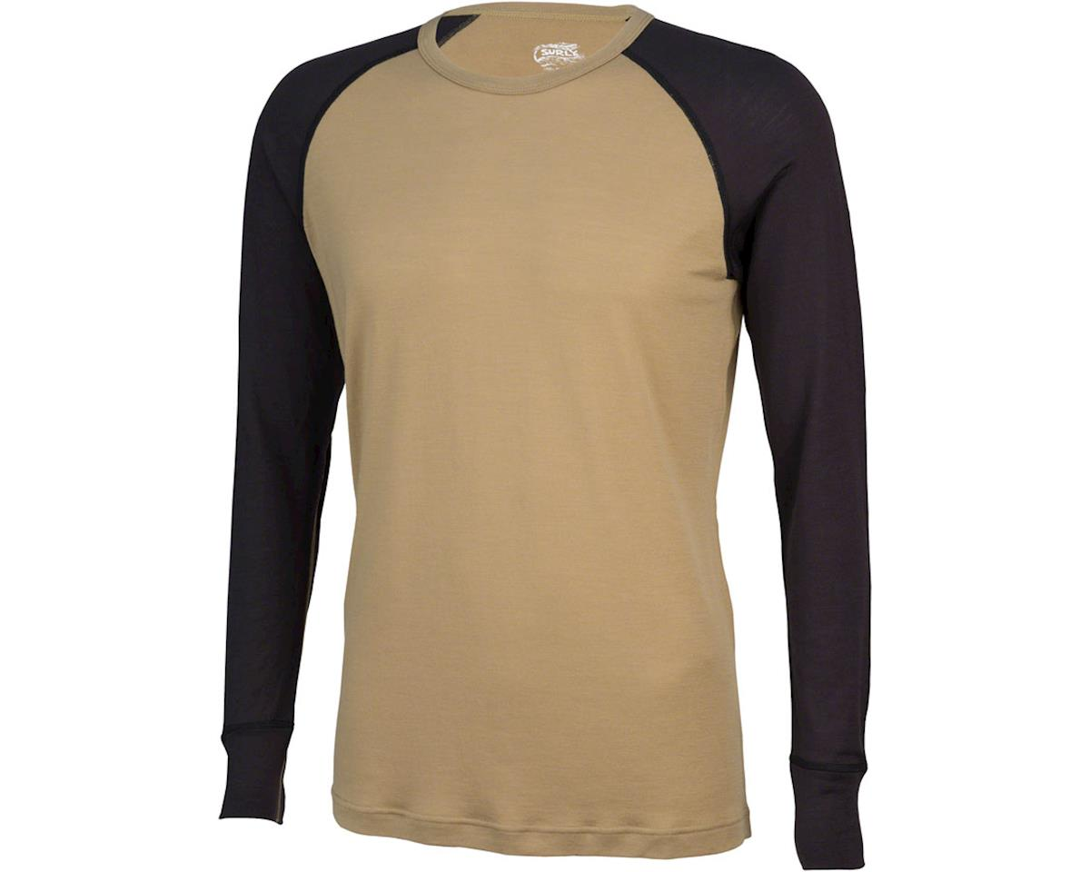 Surly Raglan Shirt: Blue (2XL)