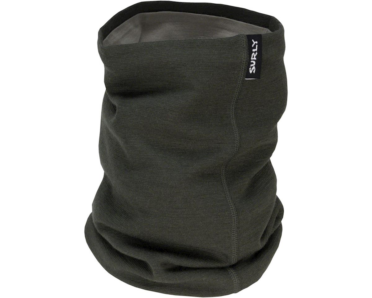 Surly Merino Neck Gaiter: Black/Tan