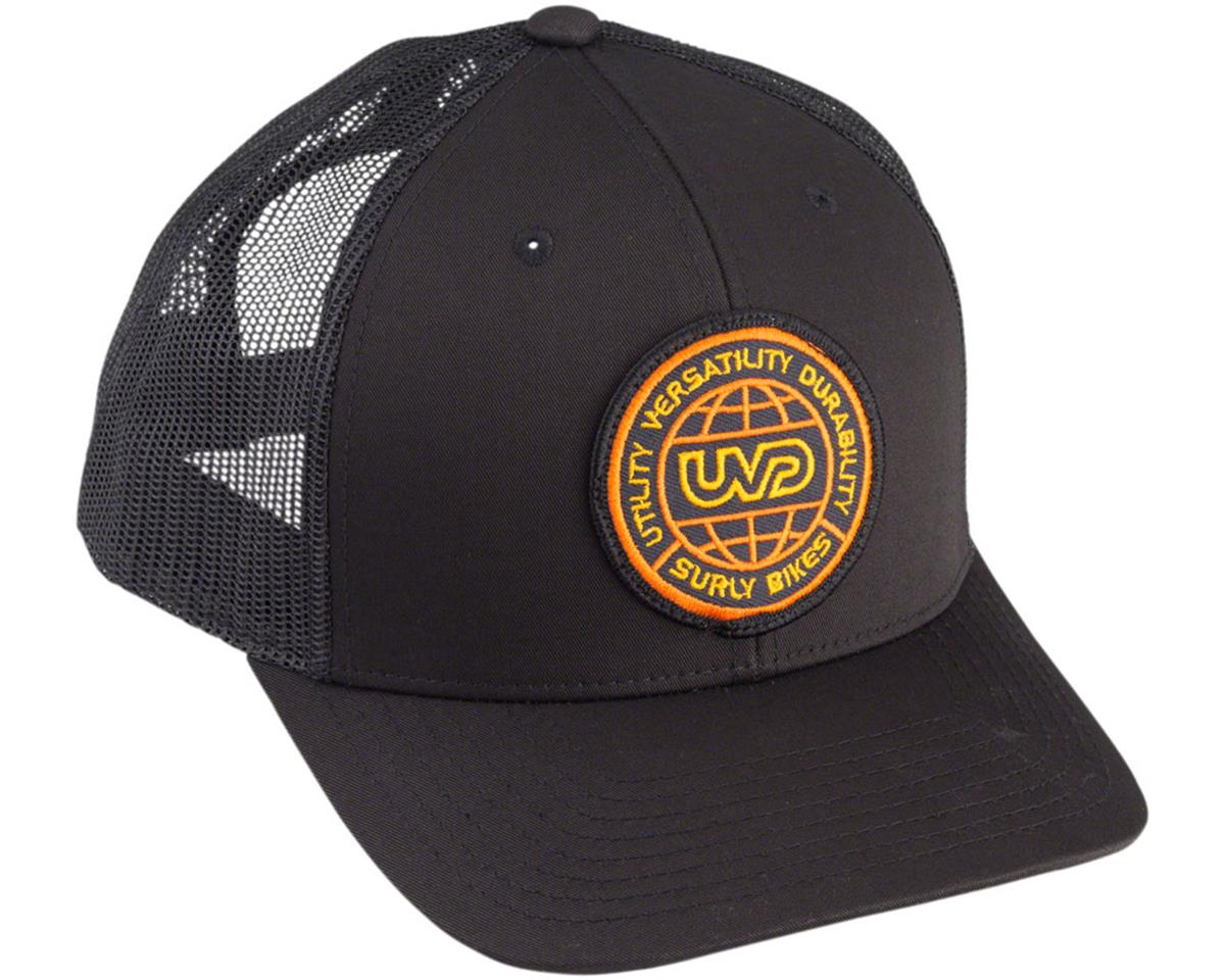 Surly Utility Trucker Cap: Black, One Size
