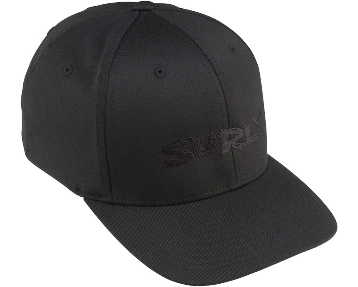 Surly Logo Baseball Cap (Black/Black)