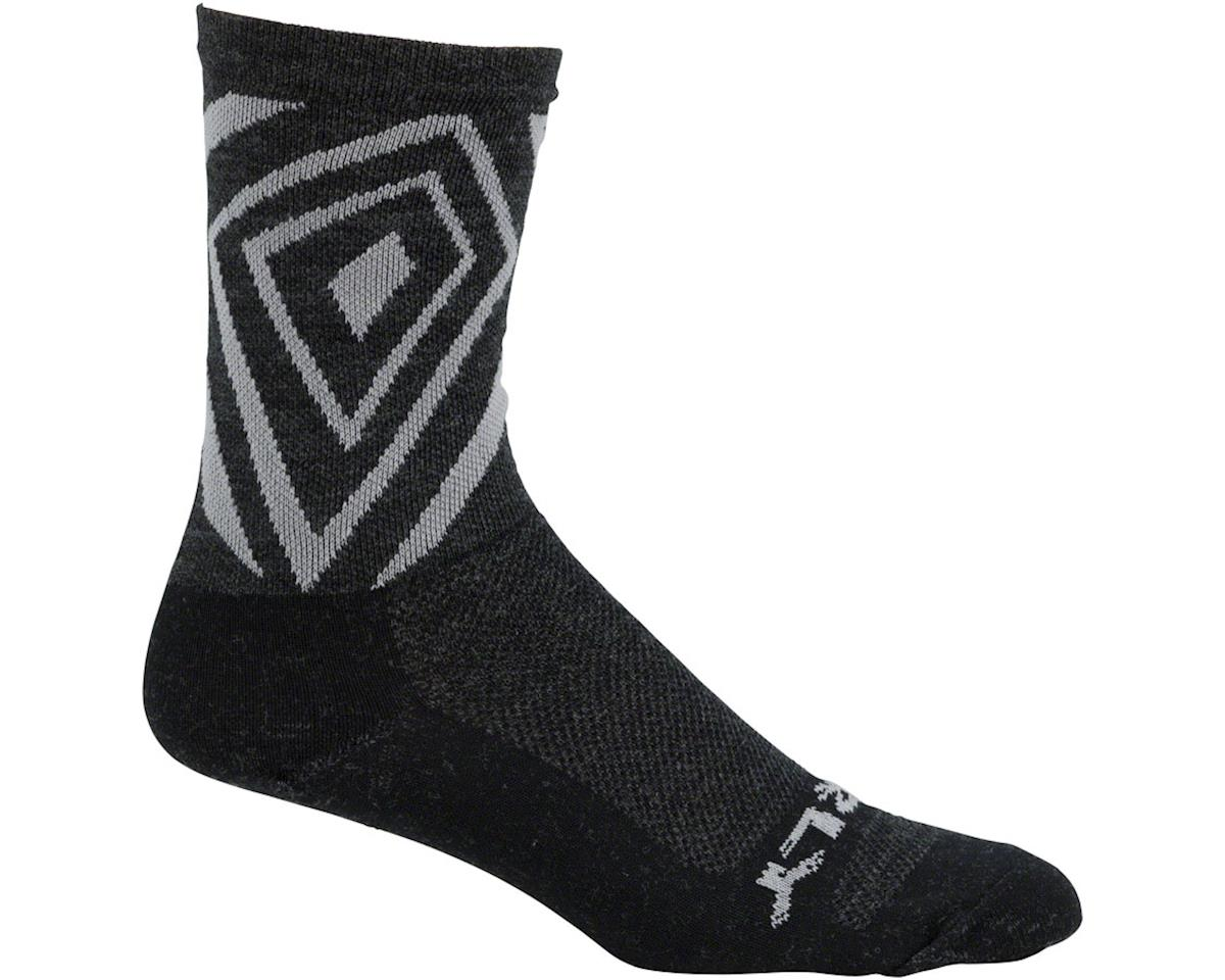 "Surly Vortechia 5"" Sock (Black/Gray)"