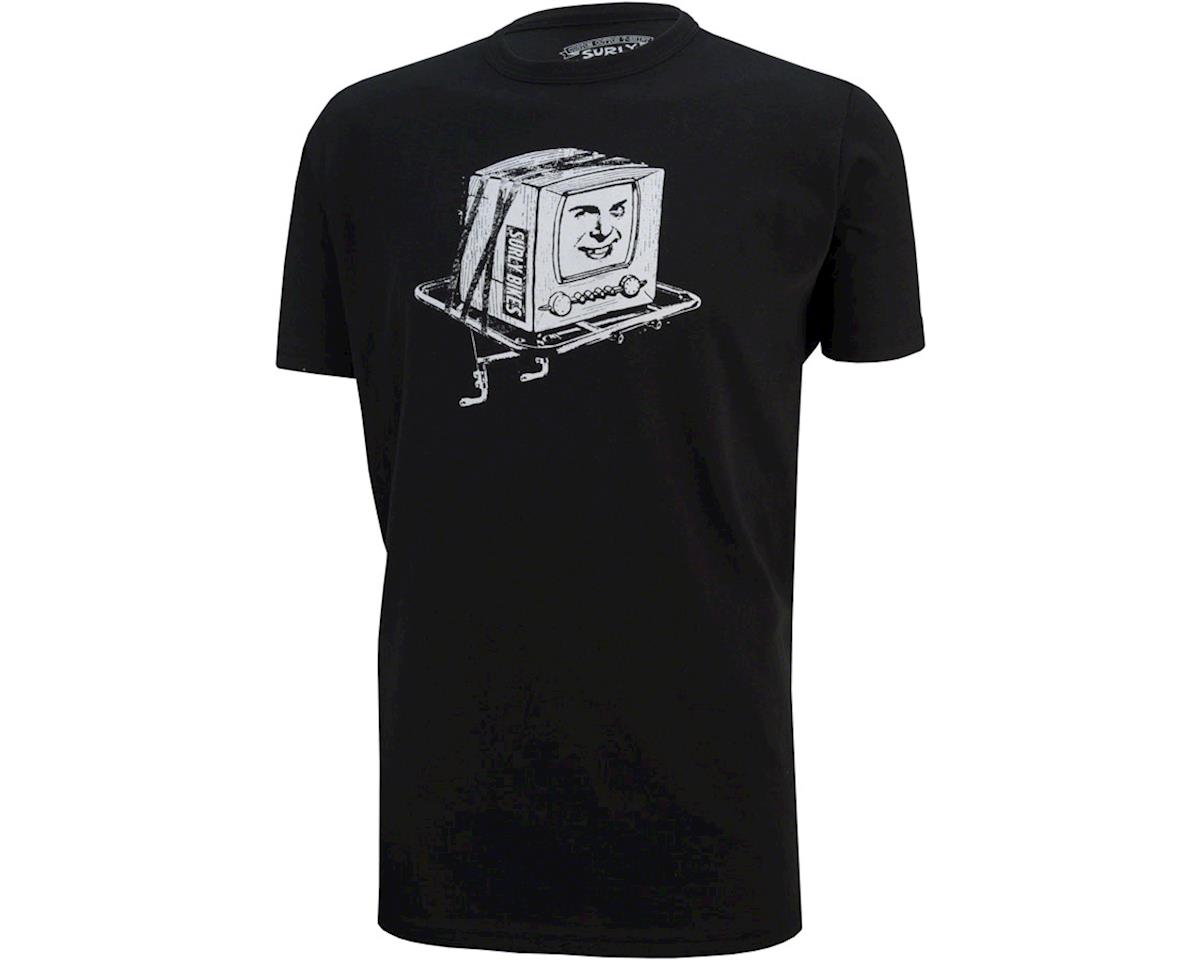 Surly Kill Your Television Men's T-Shirt: Black XL