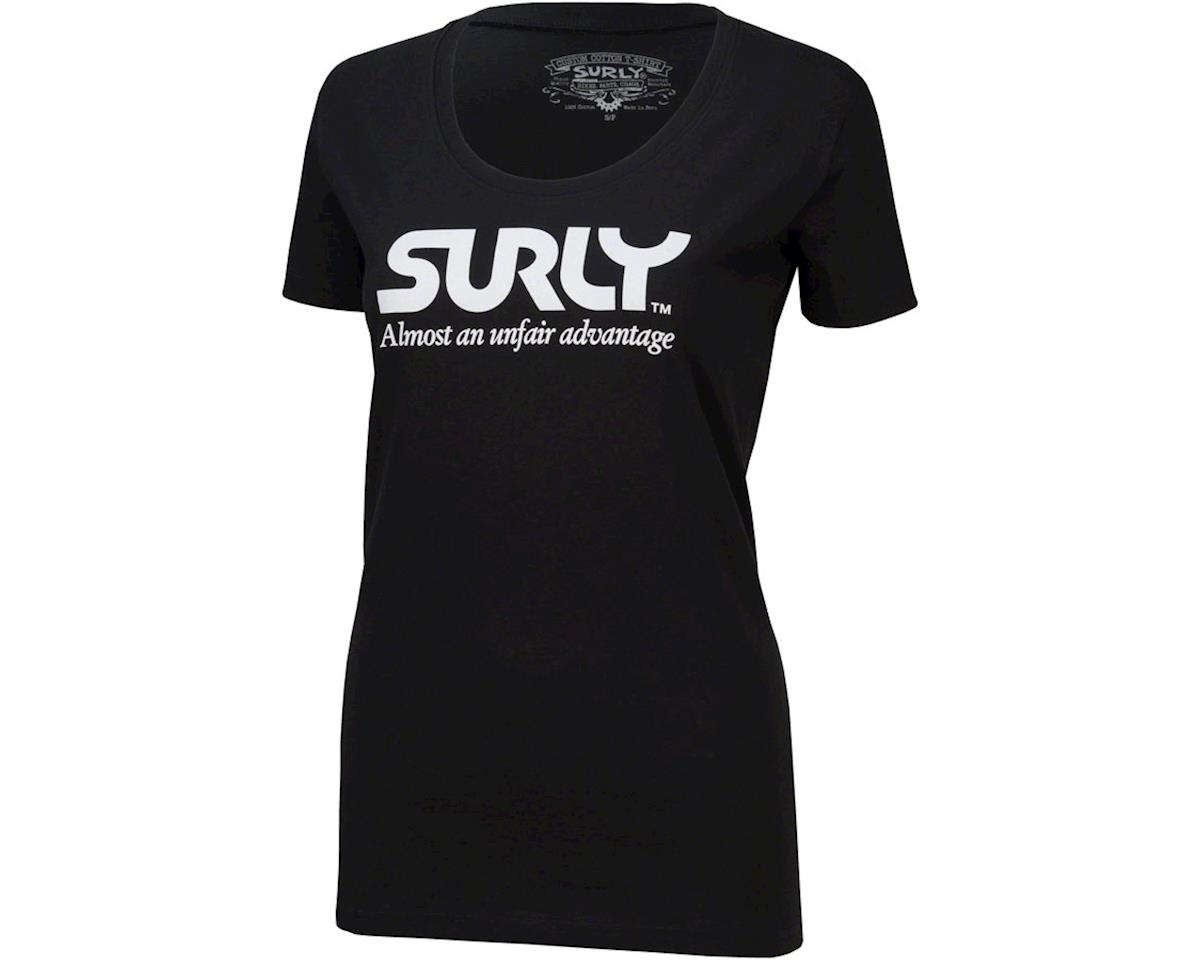 Surly Unfair Advantage Women's T-Shirt (Black) (M)