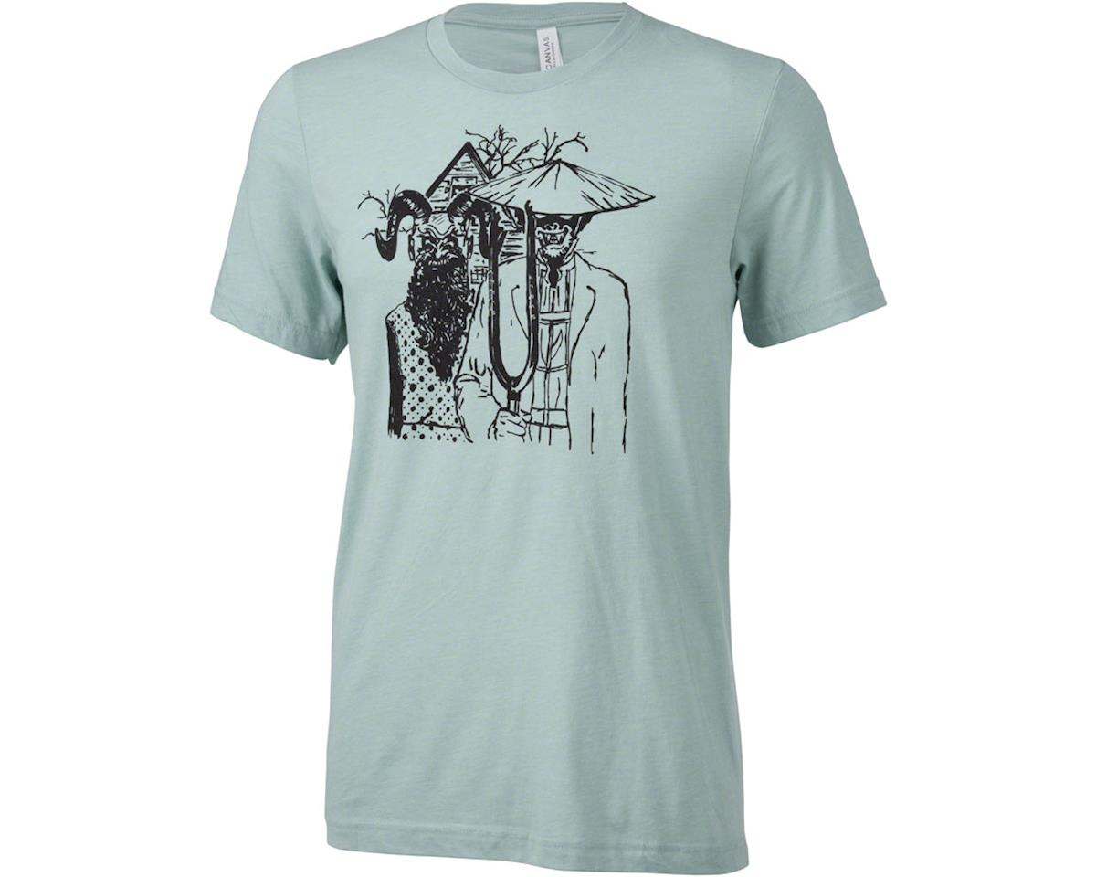Surly Gothic Men's T-Shirt (Dusty Blue) (2XL)
