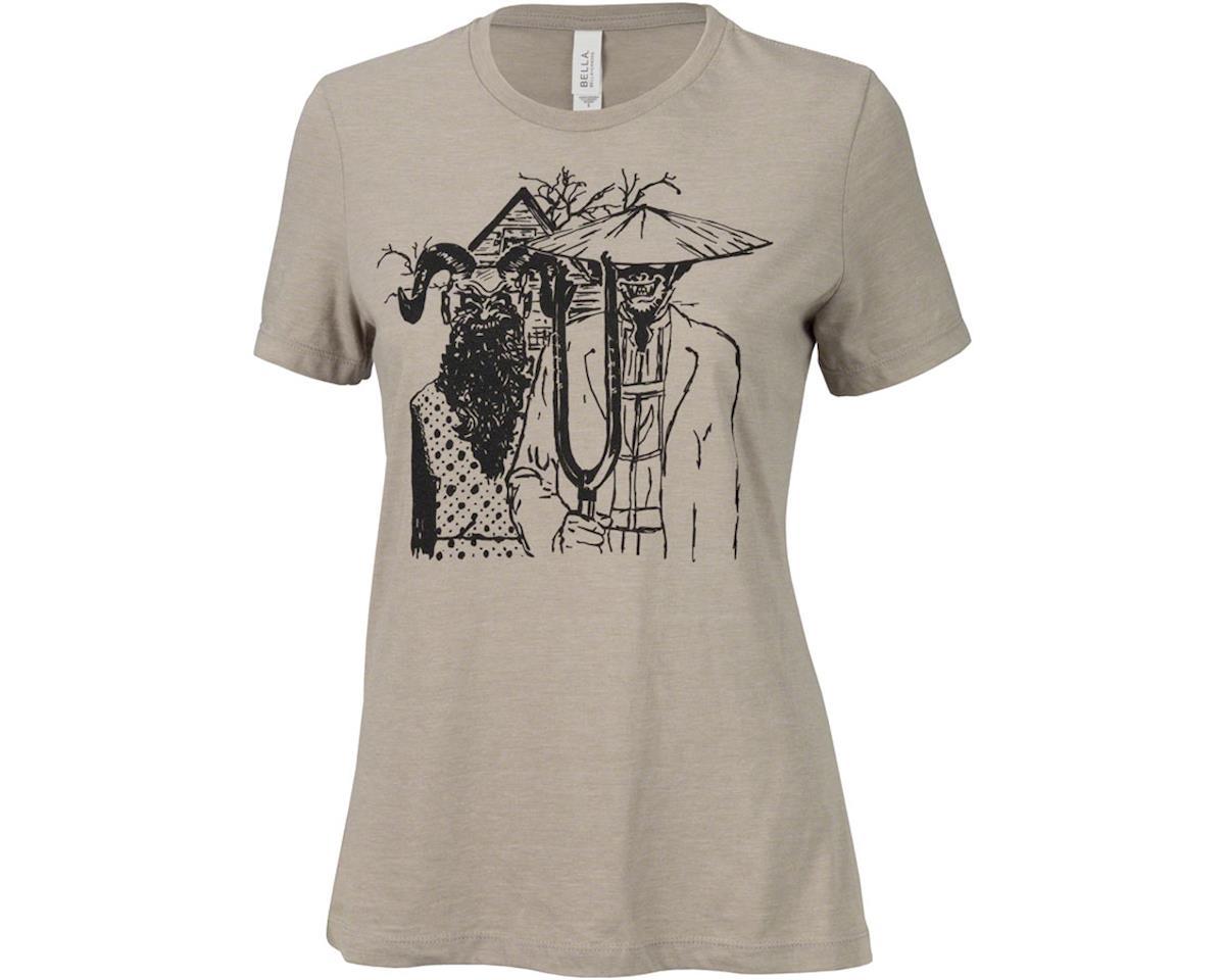 Surly Gothic Women's T-Shirt (Stone) (S)
