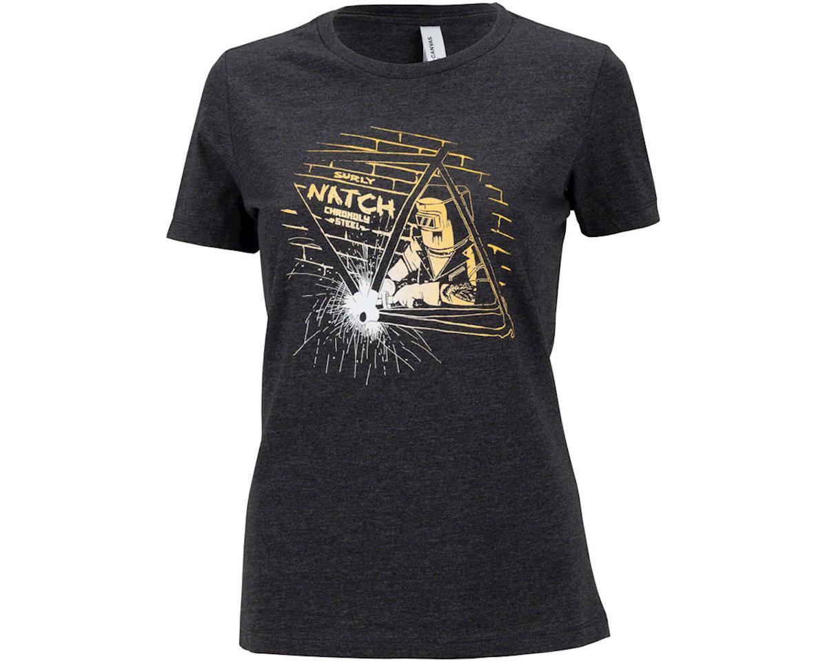 Surly Natch Women's T-Shirt (Dark Gray) (XL)