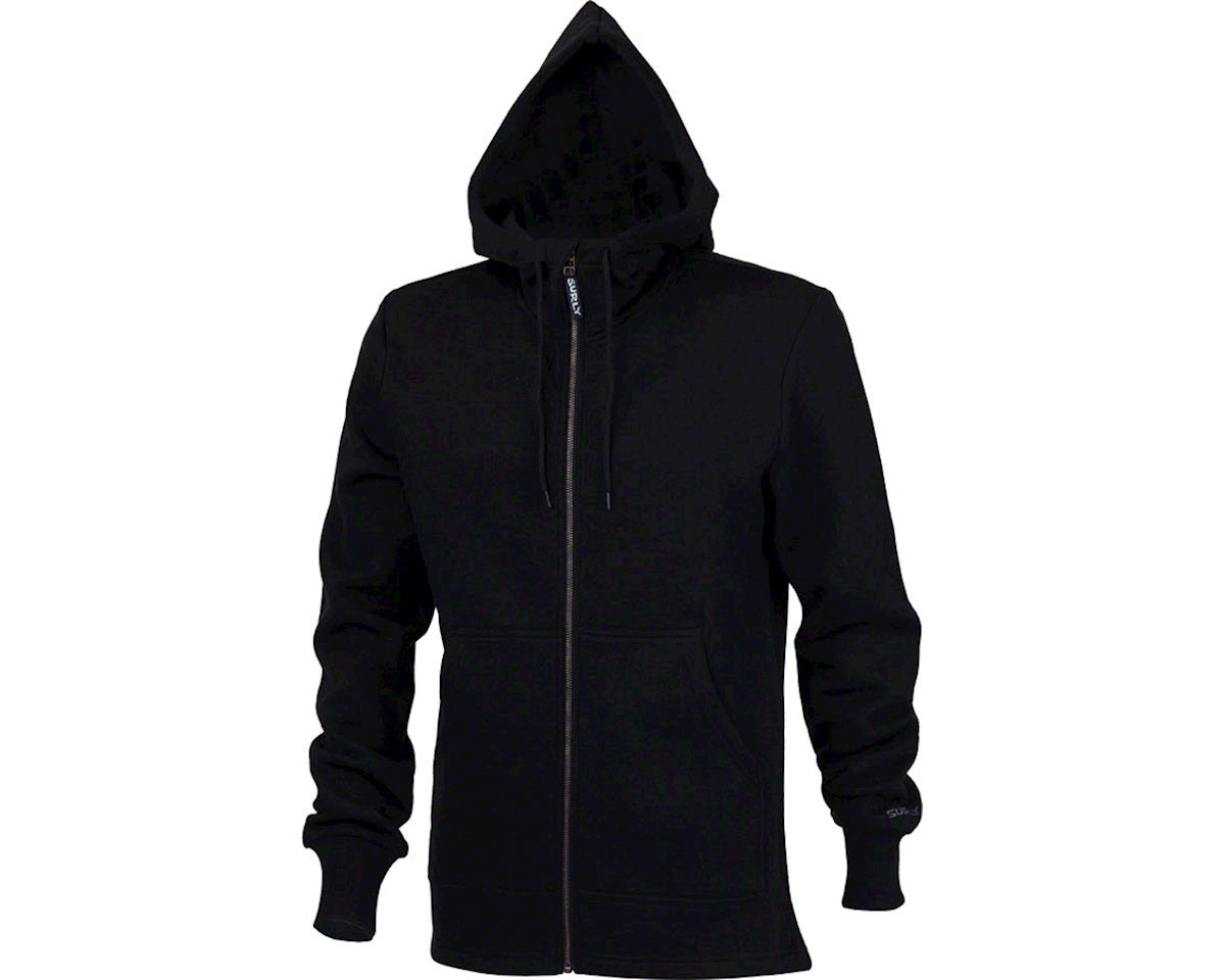 Surly Merino Wool Men's Hoodie: Black MD