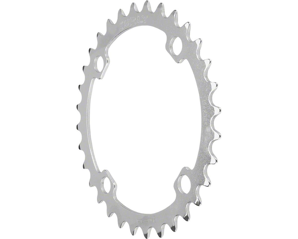 Surly Stainless Steel Ring 34t x 104mm