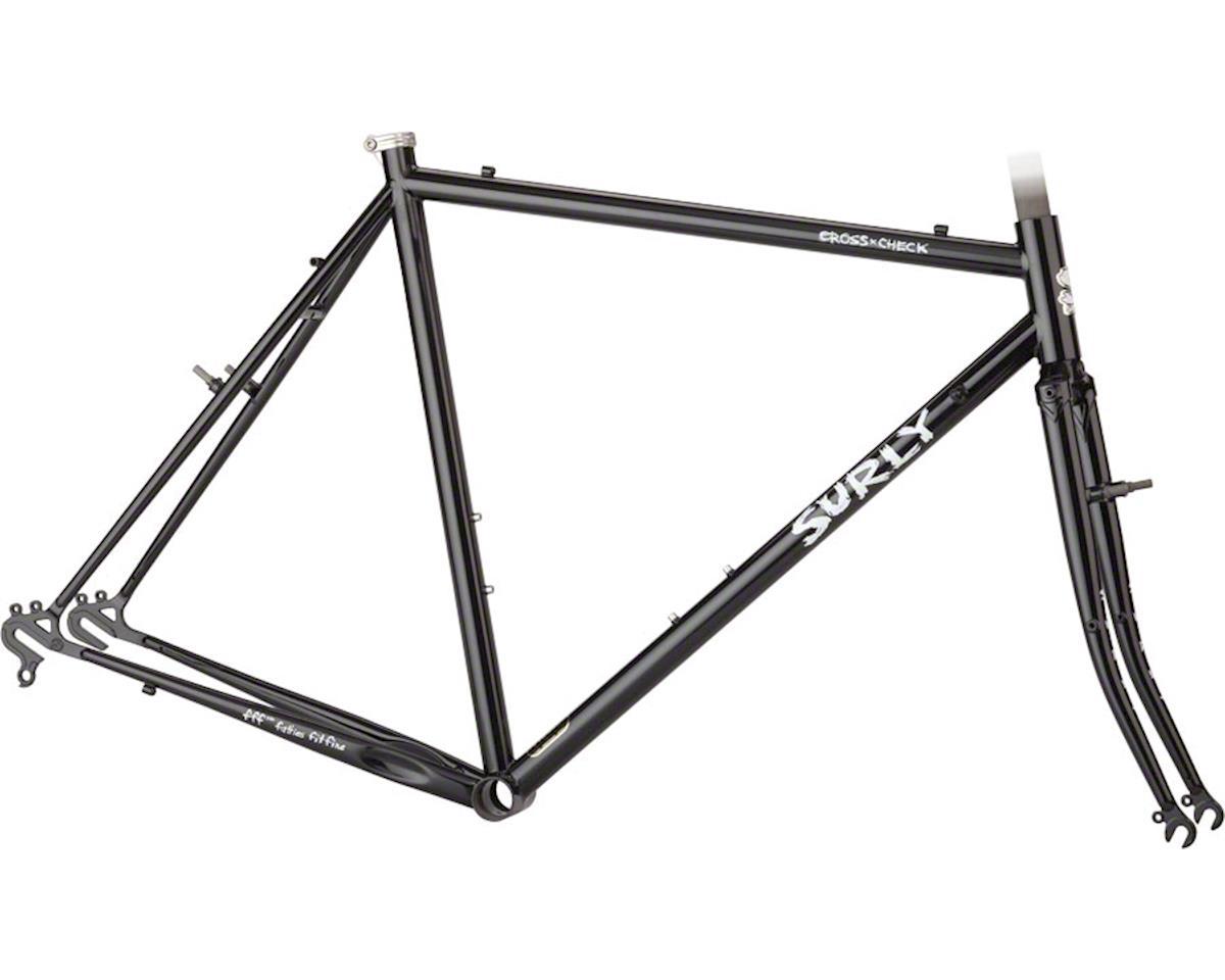 Surly Cross Check Frameset (Gloss Black) (62cm)