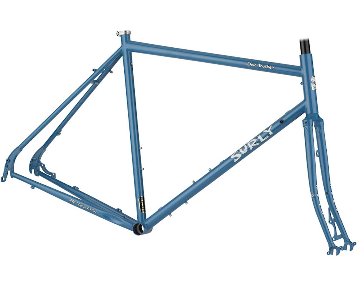 "Surly Disc Trucker 26"" Frameset (Brilliant Blue) (50cm)"